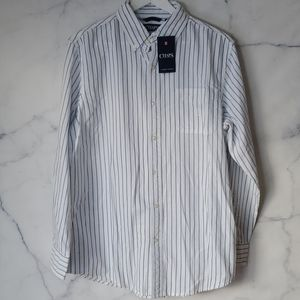 NWT - Chaps Mens Classic Fit Stretch Oxford Shirt